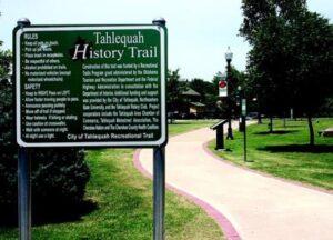 Tahlequah History Trail 1